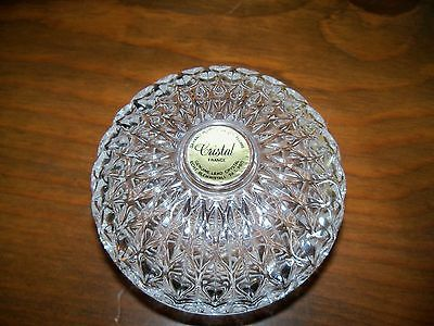 Cristal d' Arques Clam Shaped Ring/Trinket Holder