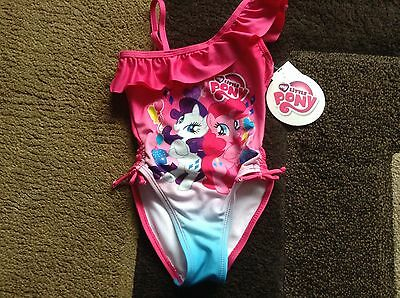 toddler girls My Little Pony 1 piece swimsuit size 2t(NWT)