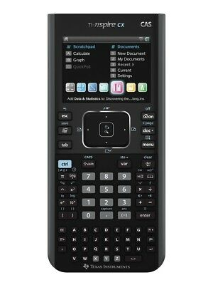 TI Nspire CX CAS Texas Instruments Grafikrechner Color-Display