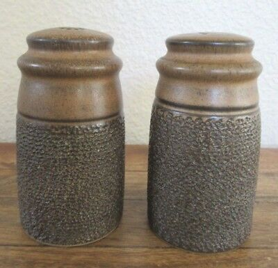 Denby Cotswold Textured Salt and Pepper Shakers