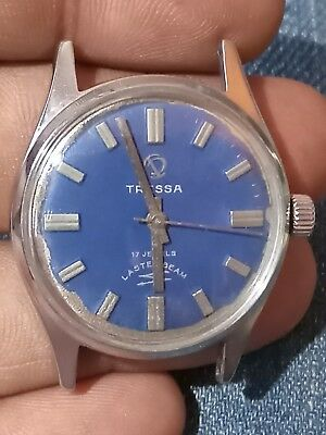 Swatch Irony Scuba 200 Stanless Steel 43mm Quartz Men Watch Not Working