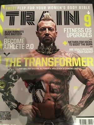 Train Bodybuilding His And Hers Magazine January 2018 Edition Kris Gethin