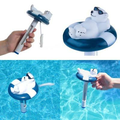 Swimming Pool Floating Thermometer Water Spa Hot Bath Tub Jacuzzi Outdoor Kit