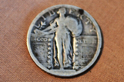 Silver Quarter Standing Liberty