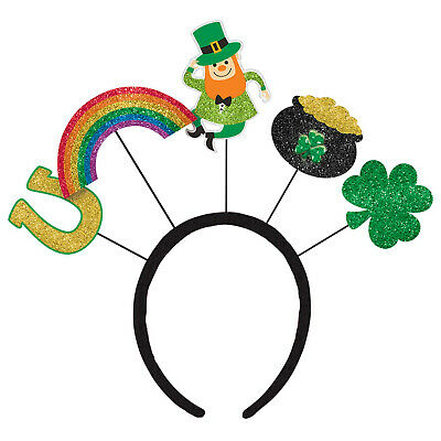 2 x St Patricks Day Over The Rainbow Headboppers