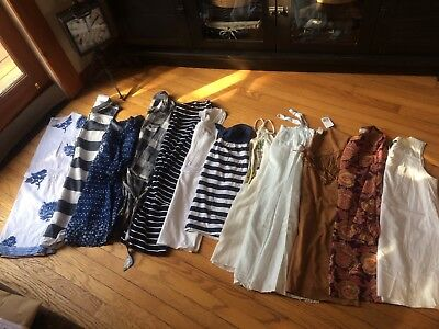 Lot Of 12 Women's Dresses LOFT, Gap, Hollister, A&F, AE, Forever 21 Sz XS S M L