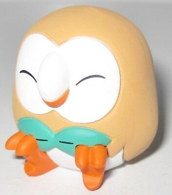 Pokemon PVC Alolan Good Night Friends Figure Sleeping Series ~ Rowlet @85231