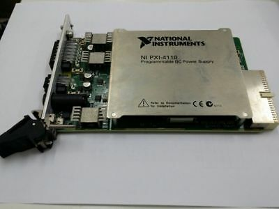 NI PXI-4110 Programmable DC Power Supply Card GREAT CONDITION 30 DAYS WARRANTY