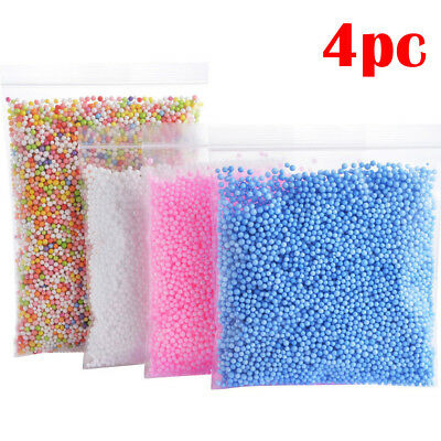 4PC Foam Balls 0.1-0.18 inch (30000 pcs)DIY Crafts Supplies For Homemade Slime