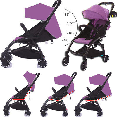 Compact Lightweight Easy Fold Baby Stroller Pram Newborn Carriage Travel Carry