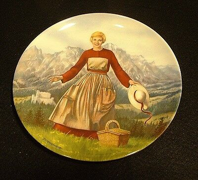 """Edwin M. Knowles Plate """"The Sound of Music""""  First Plate in Series MIB"""