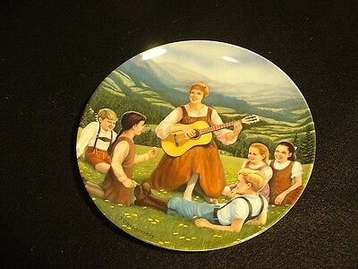 """Edwin M. Knowles Plate """"The Sound of Music"""" """"Do-Re-Mi"""" MIB"""