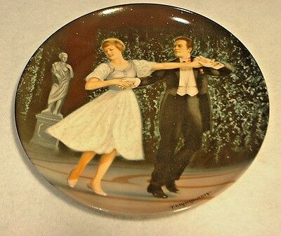 """Edwin M. Knowles Plate """"The Sound of Music"""" """"Laendler"""" MIB"""