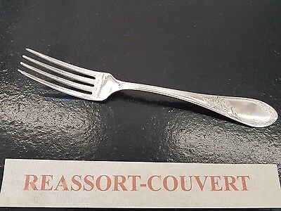 Decorative Arts Cm Silvered Metal 1205 17 Fork Desserts Cheese Ercuis Shell 17