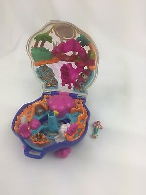 Disney Little Mermaid Playcase Tiny Collection Polly Pocket 1997 Rare