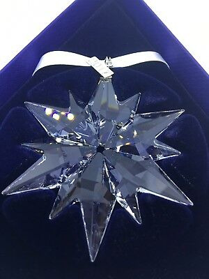 SWAROVSKI Crystal Snowflake Star 2017 Annual Christmas Large Ornament 5257589