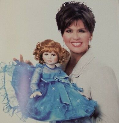 #292 Marie Osmond Starry Starry Night Doll Rare Coa Autographed By Marie Osmond
