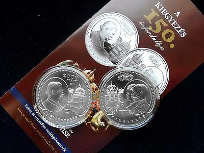 Hungary 2017 150th Anniv of of the Austro-Hungarian Compromise of 1867, BU CuNi