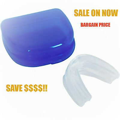 Stop Snoring Mouth Guard Solution Anti Sleep Apnea Bruxism Mouthpiece