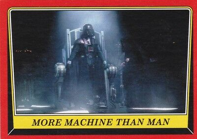 2016 Topps Star Wars Rogue One:Mission Briefing, MORE MACHINE THAN MAN #15