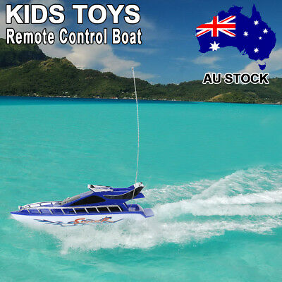 Kids Remote Control Boats Electric RC Super Mini Speed Boat High Performance Toy