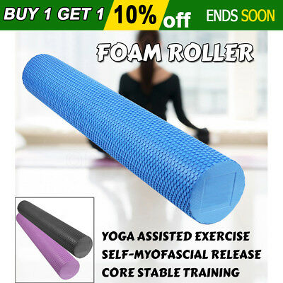Foam Roller Yoga Home Back EVA Physio AB Point Exercise Massage 45/60/90CM Train