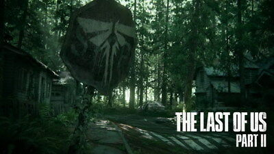 """004 The Last of Us 2 - Zombie Survival Horror Action TV Game 42""""x24"""" Poster"""