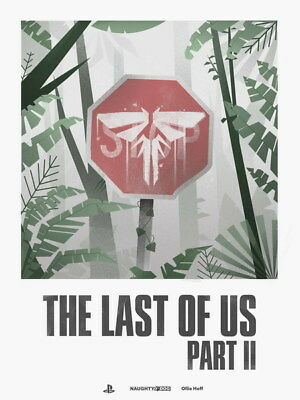 "019 The Last of Us 2 - Zombie Survival Horror Action TV Game 24""x32"" Poster"