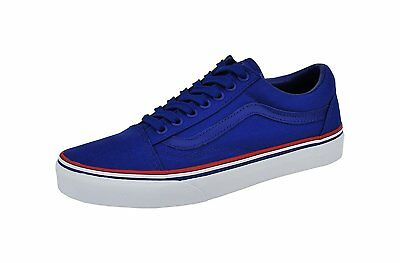 Vans Old Skool Solstice 2016 Olympic Royal Blue White Red Mens Womens Shoes