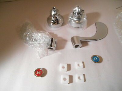 Hospital Wrist Blade Faucet Handles Chrome Commercial Or Residential