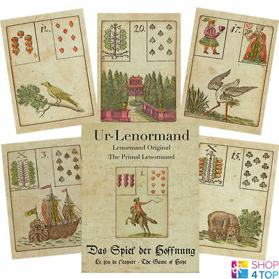 Primal Lenormand The Game Of Hope Oracle Cards Deck Esoteric Astrology Agm New