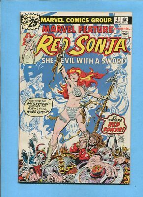 Marvel Feature #4 Presents Red Sonja May 1976 Frank Thorne VF/NM