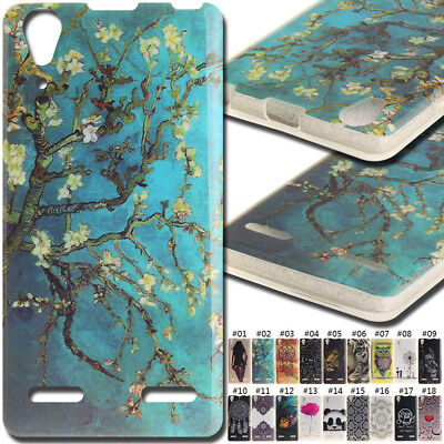 For Lenovo A6000/A6000 Plus Rubber Silicone Case TPU Soft Cover Back Gel Skin
