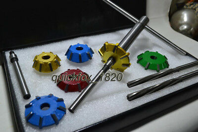 Valve seat Cutter Set Carbide Tipped 3 Angle Cut Custom Made