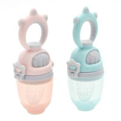 Baby Infant Food Fruits Soft Bite Nipple Feeder Silicone Pacifier Feeding Tool