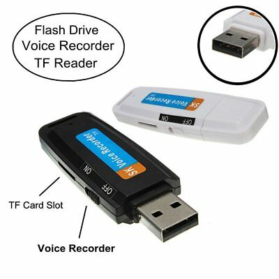 USB Digital Pen Audio Voice Recorder with Mic Dictaphone Flash Drive U-Disk OK