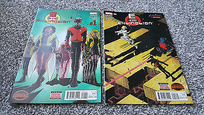 E IS FOR EXTINCTION #1 + 2 of 4 (2015) MARVEL - 2 Comics
