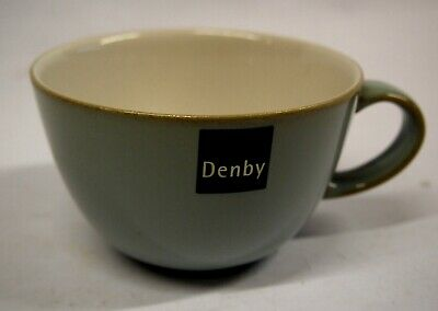 DENBY   MIST  TEA CUPS  2  only sold as a pair    CLEARANCE