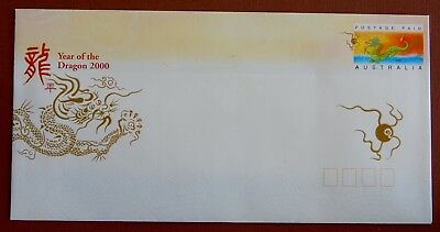 Year of the Dragon 2000 - Postage Paid Envelope MINT