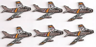 F86 SABRE Airplane Aircraft Aviation Collectable Military Applique  2 Inch Size