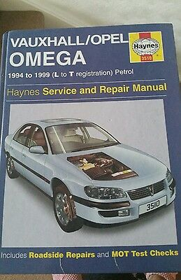 vintage haynes vauxhall opel omega owners workshop manual 19994 to rh picclick co uk 1987 Vauxhall Omega Vauxhall Omega Estate