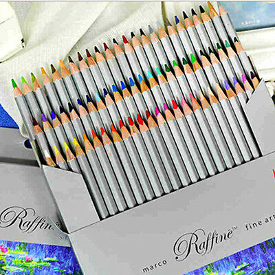 Perfect Pencils Set Colored Oil Base Sketchfor Artist Students Drawing U Choose