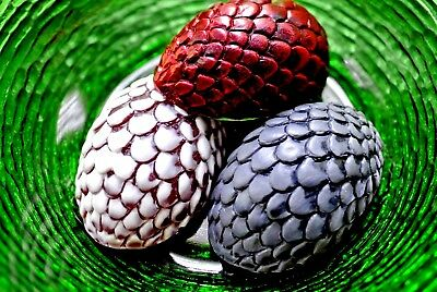 DRAGON EGG SILICONE MOULD SOAP RESIN PLASTER CLAY WAX MOLD  dinosaur