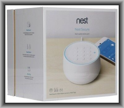 Nest Secure Alarm System Starter Pack (H1500ES), New in Retail Sealed Box !!!