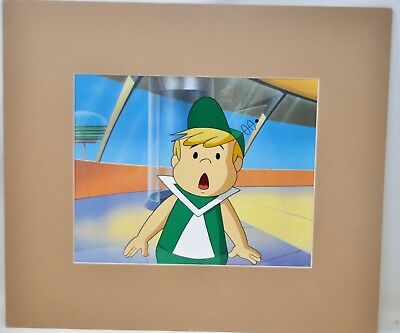 JETSONS Original Production Animation Cel Hanna-Barbera ELROY Matted COA