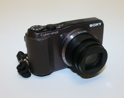 Sony Cyber-Shot DSC-HX30V 18.2MP 20x Optical Zoom GPS Wi-Fi Black Digital Camera
