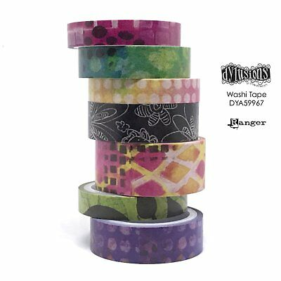 Dylusions Washi Tape - Set 3 - 7 Rolls