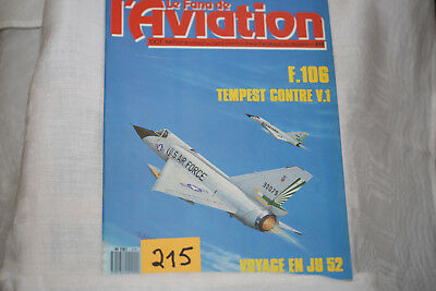 le fana de l'aviation n°215-Convair F106-les hydravions CAMS 2°-10/87
