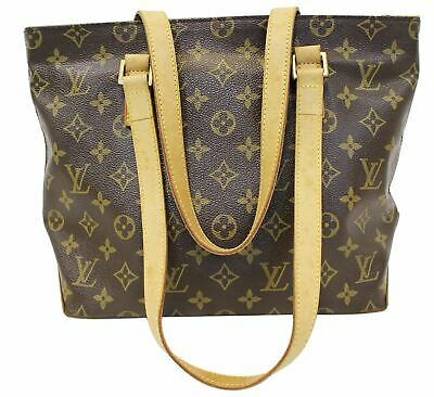 eb3d892aeea8 LOUIS VUITTON AUTHENTIC Brown Monogram Coated Canvas Totally MM Tote ...