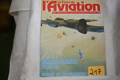le fana de l'aviation n°217-le Hawker Tempest 2°-l'unique Potez 75-12/87